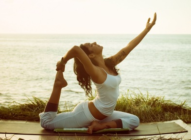 Beat stress, get flexible and fit with yoga.